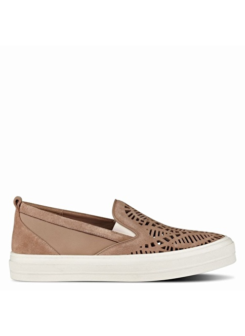 Nine West %100 Süet Casual Ayakkabı Taba